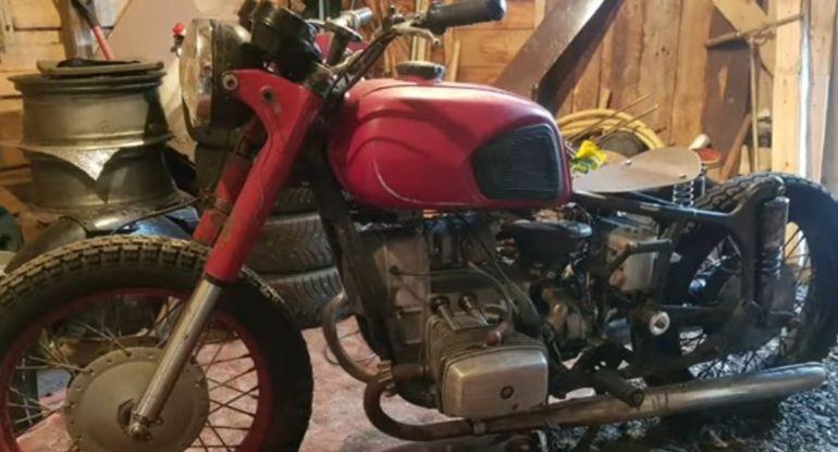 В Сети показали стильный «Боббер» из советского мотоцикла «Днепр»