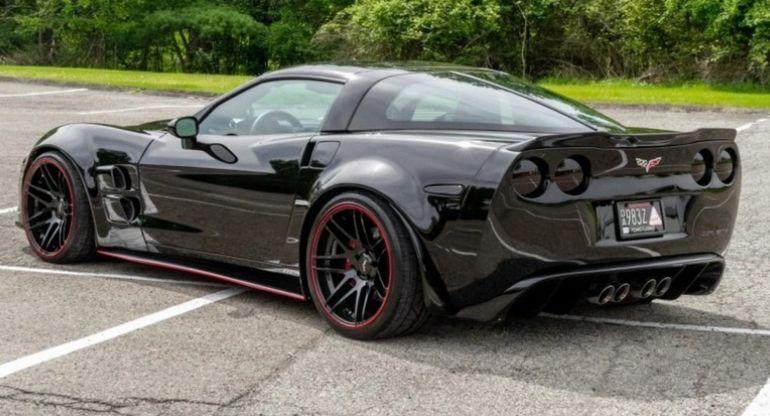На аукционе продается редчайший Corvette C6 2005 от ателье Lingenfelter