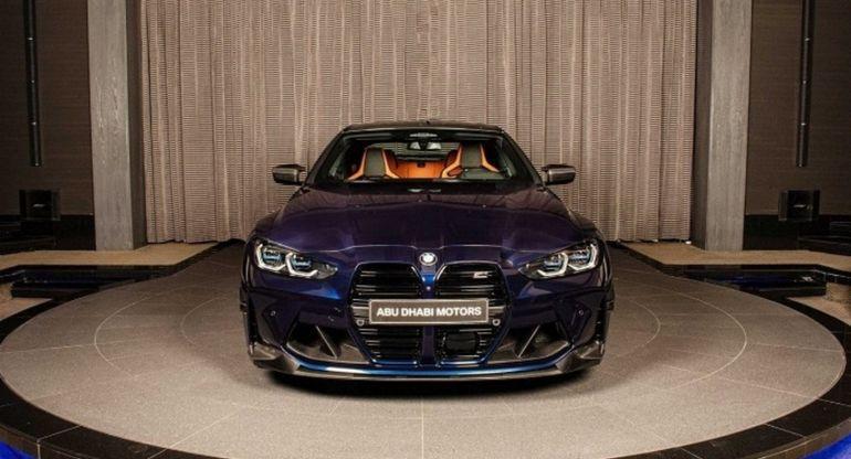 В Абу-Даби был замечен особый экземпляр BMW M4