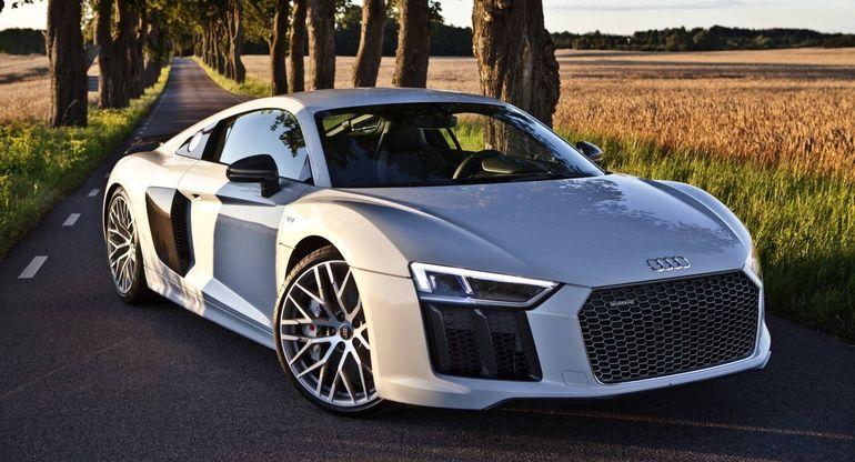 Как у Железного человека: Спортивный Audi R8