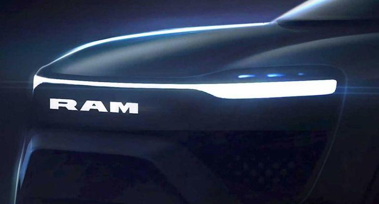 Полностью электрический пикап Ram 150 запустят в производство в 2024 году