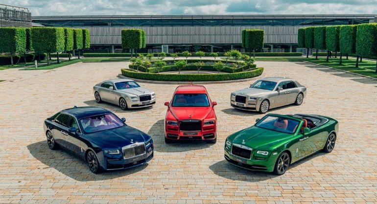 Rolls-Royce привез в Гудвуд эксклюзивную коллекцию автомобилей