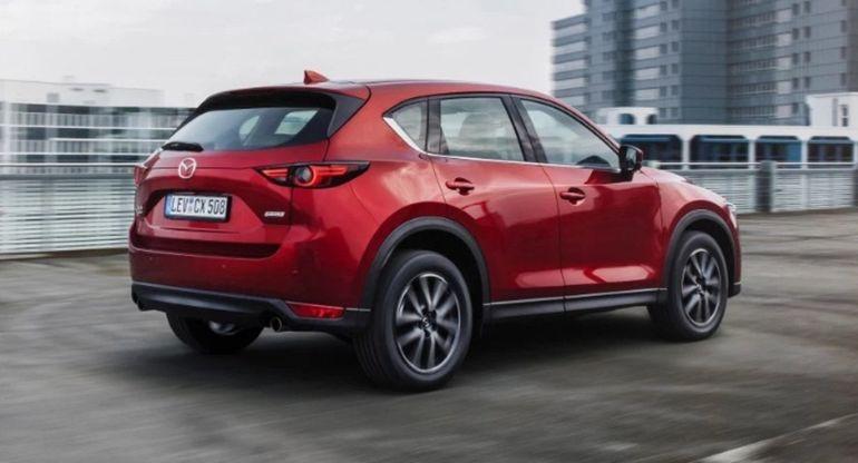 Кроссовер Mazda CX-5 получит более мощный мотор