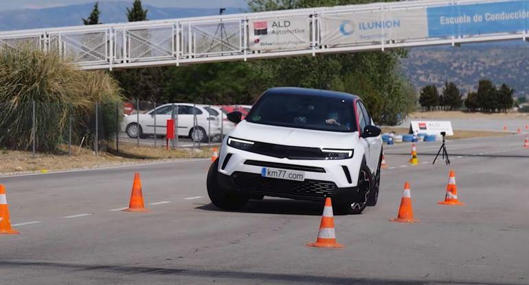 Opel Mokka показал хорошие результаты на «лосином тесте»