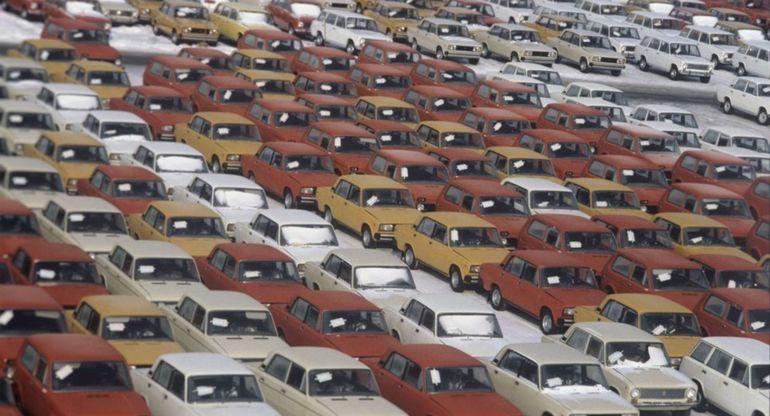 Масштабы экспорта авто за границу в Советском Союзе