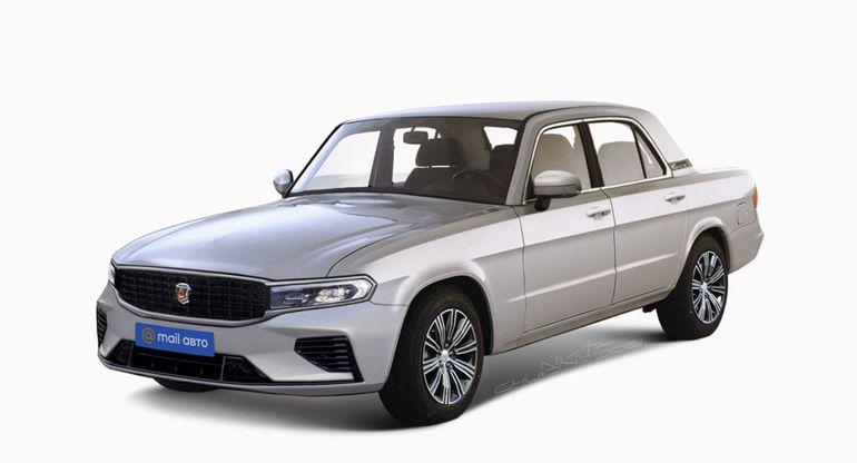 В Сети показали современный седан ГАЗ-31105 «Волга» 2021 года