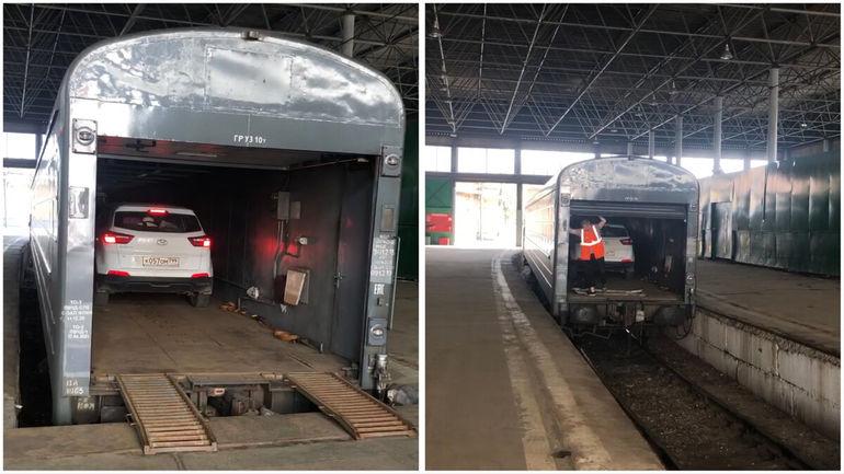 Как сократить путь до Крыма и довезти автомобиль на поезде