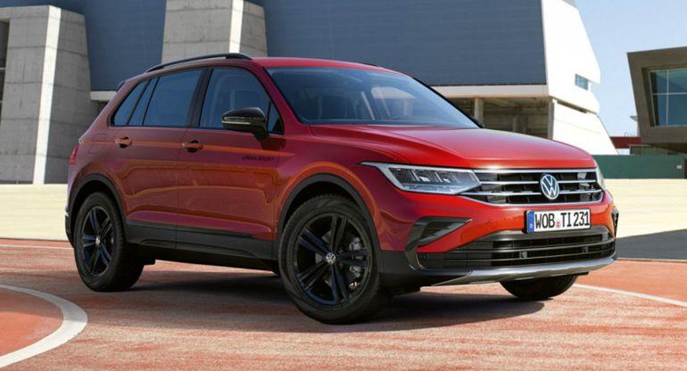 Volkswagen представил новую модель Tiguan Urban Sport