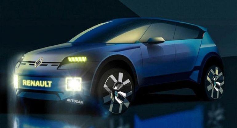 Электрический городской кроссовер Renault 4ever появится в 2025 году
