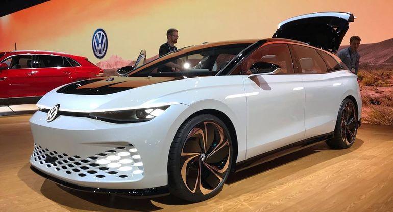 Первые сведения об электрическом Volkswagen Passat