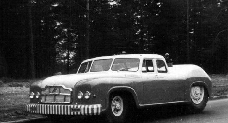 МАЗ-541 — седан с двигателем на 525 л.с
