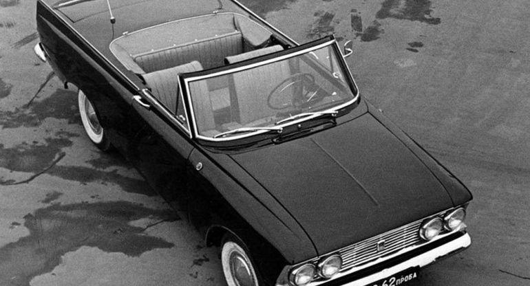 Москвич-408 — почему в Европе отказались от привлекательного кабриолета