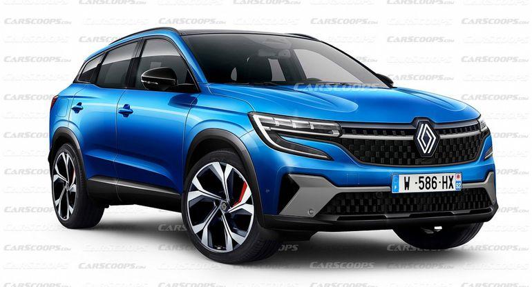 Renault Kadjar 2022 расширится от одной модели до семейства из двух 7-местных внедорожников и купе