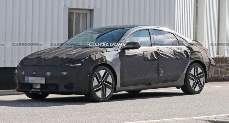 Совершенно новый Hyundai Ioniq 6 засняли на испытаниях: ничего общего с корейскими автомобилями