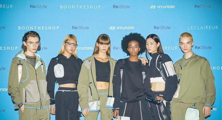 Hyundai показала коллекцию одежды из автомобильных материалов