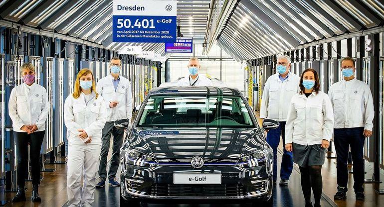 Главный завод Volkswagen выпустил наименьшее количество автомобилей с 1958 года