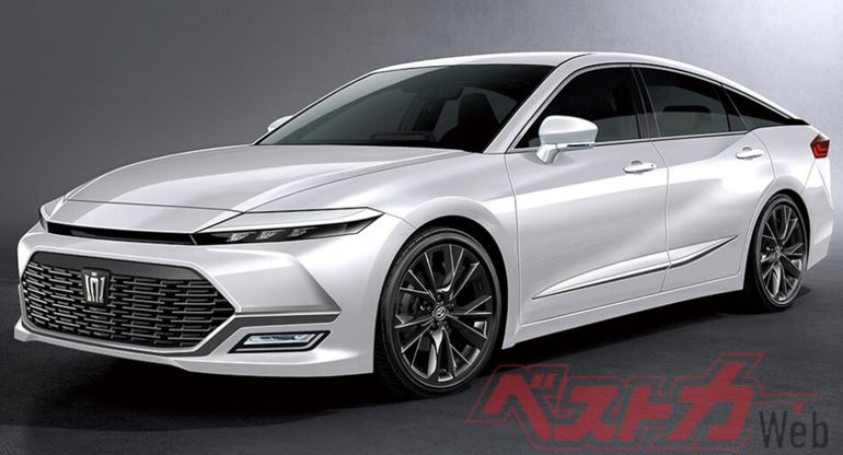 Самая почтенная модель Toyota Crown перейдет на передний привод